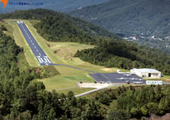 Aerial photo of 24A (Jackson County Airport)