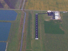 Aerial photo of D54 (West Fargo Municipal Airport)