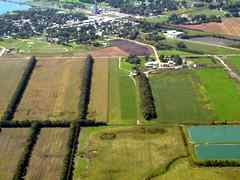 Aerial photo of 4R6 (Milnor Municipal Airport)