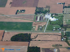 Aerial photo of I62 (Brookville Air-Park Airport)