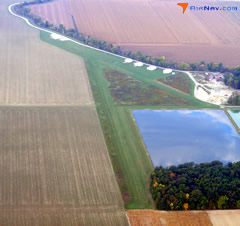 Aerial photo of 6D7 (Deshler Municipal Landing Strip)