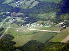 Aerial photo of 7D8 (Gates Airport)