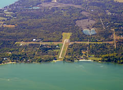 Aerial photo of 89D (Kelleys Island Land Field Airport)