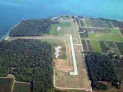Aerial photo of 3X5 (North Bass Island Airport)