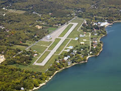 Aerial photo of 3W2 (Put in Bay Airport)