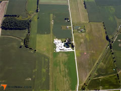 Aerial photo of OI68 (Hilty Field Airport)