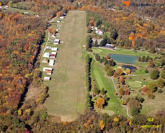 Aerial photo of 1G8 (Eddie Dew Memorial Airpark)
