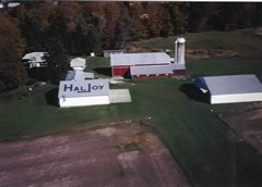 Aerial photo of 06OH (Hal Joy Airfield)