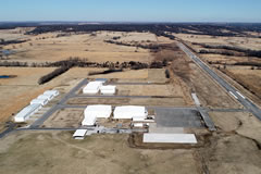 Aerial photo of 1K8 (South Grand Lake Regional Airport)