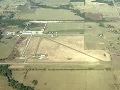 Aerial photo of H66 (Nowata Municipal Airport)
