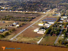 Aerial photo of O38 (Gundy's Airport)