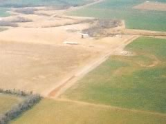 Aerial photo of O66 (Homestead Farms Airport)