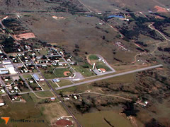 Aerial photo of 5O1 (Vici Municipal Airport)