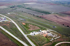 Aerial photo of 3O5 (Walters Municipal Airport)