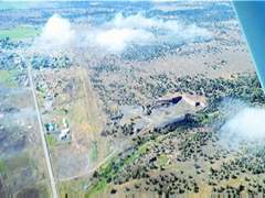 Aerial photo of 85OR (Allen's Airstrip)