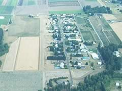 Aerial photo of OR40 (Dietz Airpark)