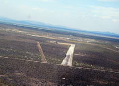 Aerial photo of OG06 (Table Rock Airport)