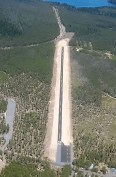 Aerial photo of 5S2 (Crescent Lake State Airport)
