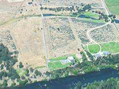 Aerial photo of 0OR5 (East Oregon Cattle Company Airport)