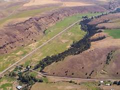 Aerial photo of 05OR (6 Ranch Airport)