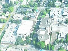 Aerial photo of OR69 (Sacred Heart General Hospital Heliport)
