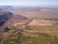 Aerial photo of OR10 (Roaring Springs Ranch Airport)