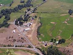 Aerial photo of OR70 (Pine Valley Airport)
