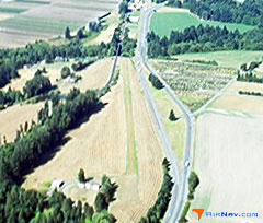 Aerial photo of OR90 (Lafayette Airstrip)