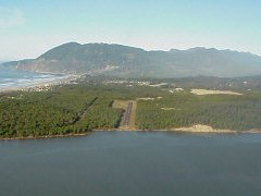 Aerial photo of 3S7 (Nehalem Bay State Airport)