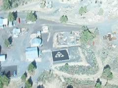 Aerial photo of 0OR4 (Round Butte Heliport)