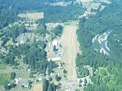 Aerial photo of 03S (Sandy River Airport)