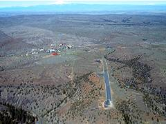 Aerial photo of 9OR1 (Shaniko Ranch Airport)