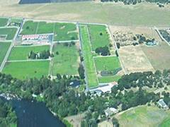 Aerial photo of 0OR8 (Sutton on Rogue Airport)