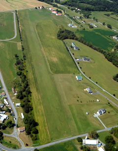 Aerial photo of 8N1 (Grimes Airport)