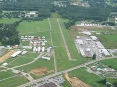 Aerial photo of 3G9 (Butler Farm Show Airport)