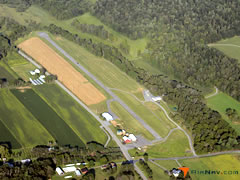 Aerial photo of N74 (Penns Cave Airport)