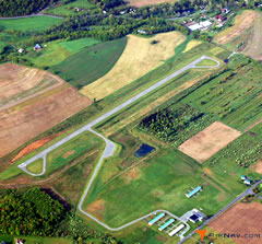Aerial photo of 8N8 (Danville Airport)