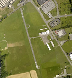 Aerial photo of N43 (Braden Airpark)
