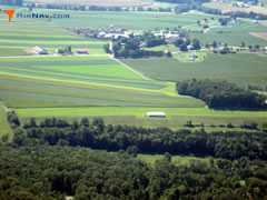 Aerial photo of 0PS7 (Harman Airport)