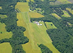 Aerial photo of 9N1 (Vansant Airport)