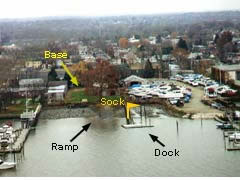 Aerial photo of 9N2 (Philadelphia Seaplane Base)