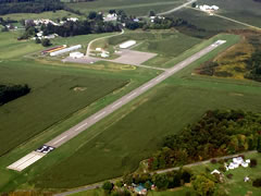Aerial photo of 4G1 (Greenville Municipal Airport)