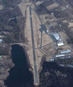 Aerial photo of N30 (Cherry Ridge Airport)