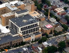 Aerial photo of 5PS1 (Lancaster General Hospital Heliport)