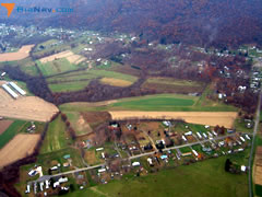 Aerial photo of 1PA4 (Wagner Airport)