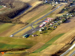 Aerial photo of P34 (Mifflintown Airport)