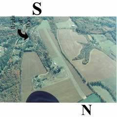 Aerial photo of PS20 (Fairview Farm Airfield)