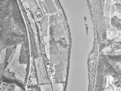 Aerial photo of H11 (Sunbury Seaplane Base)