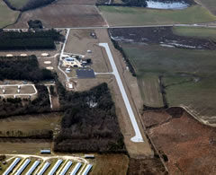 Aerial photo of 52J (Lee County Airport-Butters Field)