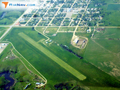 Aerial photo of 7Q7 (White River Municipal Airport)